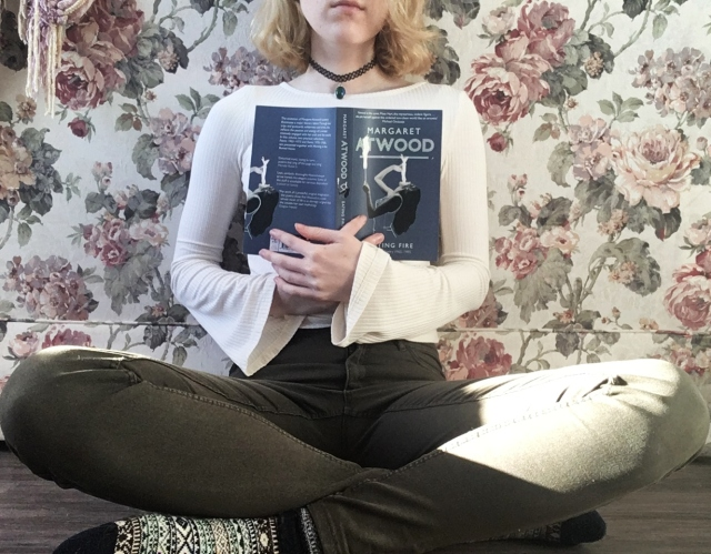 12 days of bookmas, book review, reading, books to read, books to read in 2019, important books, books of instagram, readers of instagram, reading, current favorites, current books, december reads, what I'm reading, margaret atwood, eating fire, poetry collection