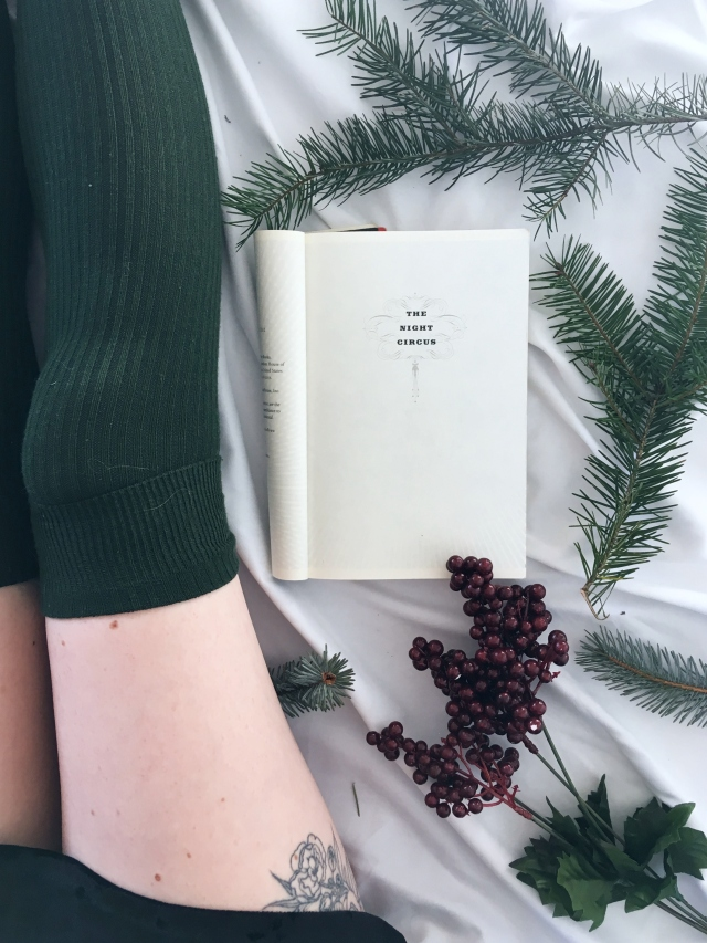 12 days of bookmas, book review, reading, books to read, books to read in 2019, important books, books of instagram, readers of instagram, reading, current favorites, current books, december reads, what I'm reading, the night circus, erin morgenstern, fantasy book review