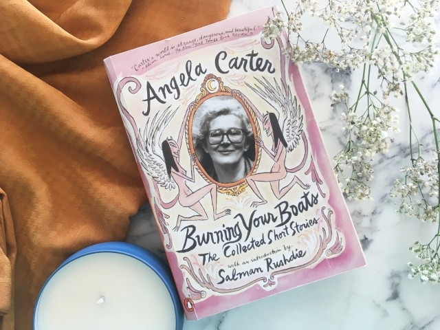 12 days of bookmas, book review, reading, books to read, books to read in 2019, important books, books of instagram, readers of instagram, reading, current favorites, current books, december reads, what I'm reading, angela carter, burning your boats, short stories